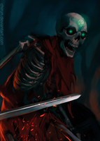 Skeleton by chirun