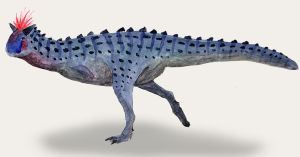 Feathered Carnotaurus by PLASTOSPLEEN
