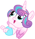 Flurry Heart (Vector) by DannyMoMochi