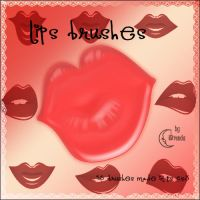 Lips Brushes by Coby17