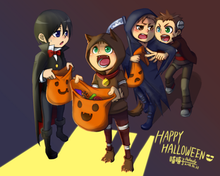 Happy Halloween 2013 by aulauly7
