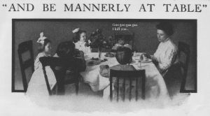 Table Manners by hackdaddy
