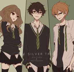 The Silver Trio by ruichou