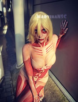 The Female Titan by MartinaNSC