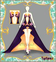 Outfit Adoptable (Auction) #30 CLOSE!!! by Tychees