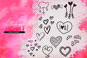 Recursos/Brushes/Heart by Upwishcolorssx