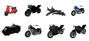 MH - Vehicle Pack #1 by MrUncleBingo
