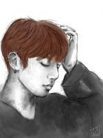 Jungkook  by Catrout