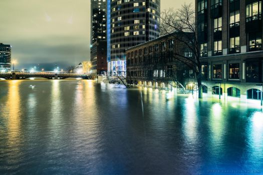 Flooding of the Grand 5 - Feb 2018 by KBeezie