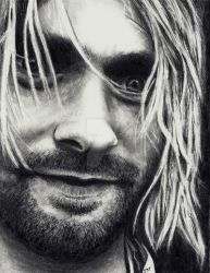 Kurt Cobain - Come as you Are by Doctor-Pencil