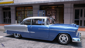 1955 Chevy by scifigiant