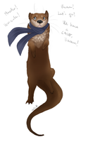 Otterlock by catsmaycry