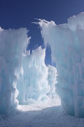 Winter Scenes - Ice Castle2 by Qrinta