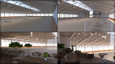 TM Indoor Arena by baddestbay