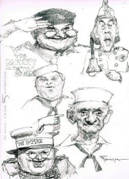 Benny Hill Show by FedeBengoa