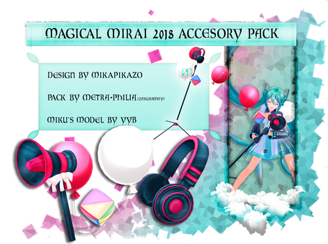 [Magical Mirai 2018 Pack]FreeDL and PremiumContent by Metra-Philia