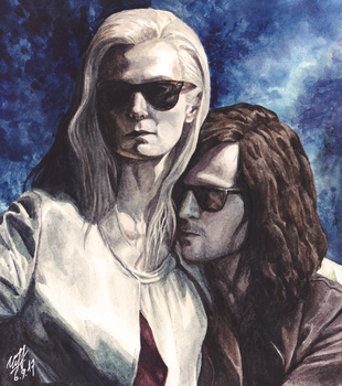 Only lovers left alive by KseniaParetsky