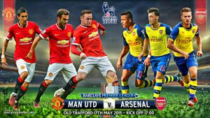 MANCHESTER UNITED - ARSENAL PREMIER LEAGUE 2015 by jafarjeef