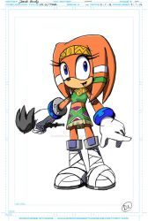 STC-O: Tikal Design Sheet by DarkNoise-Studios