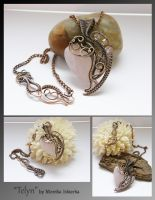 Telyn- wire wrapped necklace by mea00