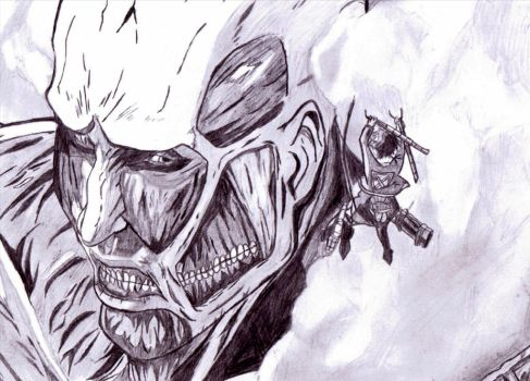 Colossal Titan by Johnx13