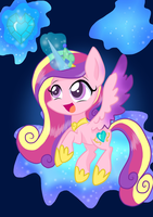 Princess Cadence by Derpsonhooves