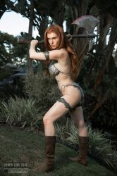 Red Sonja by Jacqueline Goehner 2018 - III by wbmstr