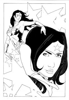 WonderWoman Day 2008 auction06 by dinamostudio