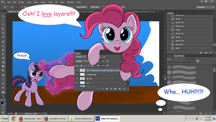 Pinkie Pie Undocks my Layers Panel by HydrusBeta