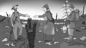 Scene#3: A Christmas Truce by PCStudio