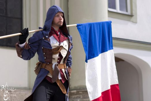 Arno Dorian - Assassins Creed Unity by LadyBad
