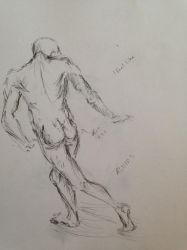 Sketch: The Male Figure by 52HertzWhale