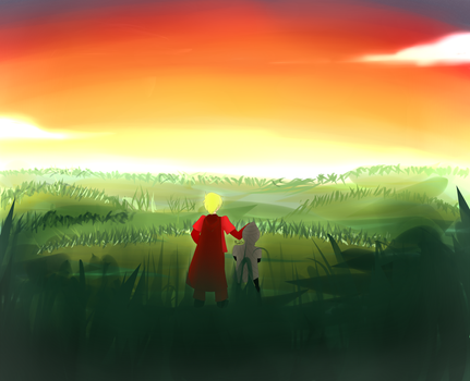 TG: look at that sunset bro by AiletaShyne1467