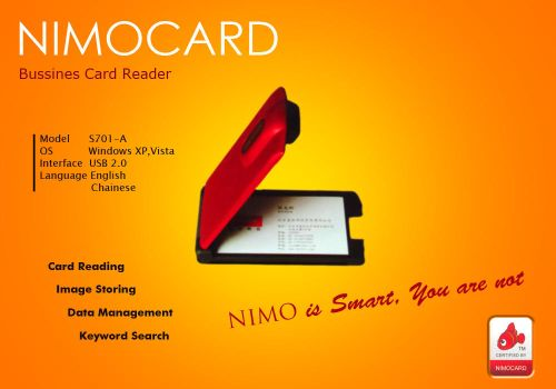 Nimo Business Card Reader2 by MahdyDesigns