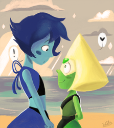 Peridot and Lapis by Isabel9819