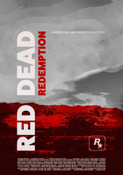 Red Dead Redemption Poster by iFadeFresh