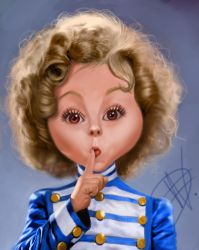 Shirley Caricature by du-har