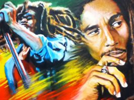 Bob Marley by TheCharlieBrowniest