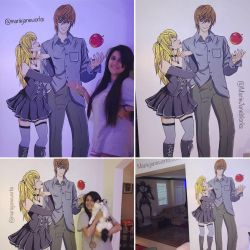 Light x Misa DN Mural by MarieJaneWorks