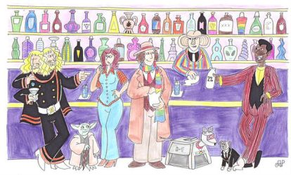 Doctor Who Goes To Quark's by EmperorNortonII