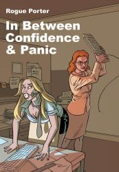 In Between Confidence And Panic, cover 2 by mistertheriault