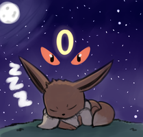 Eevee hype! by Glitched-Irken