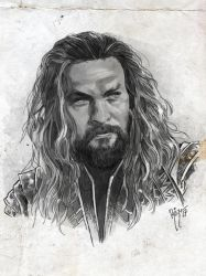 JUSTICE LEAGUE - AQUAMAN by RUIZBURGOS