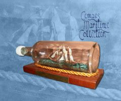 Ship in a Bottle by CemaesMaritime