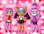 sonic girls gymnasts by ninpeachlover