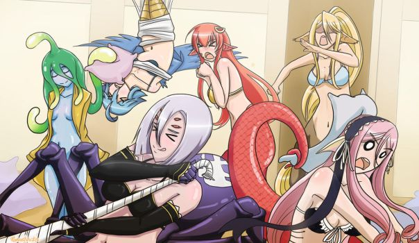 Monster Musume: Slumber Party by PoroSnacks