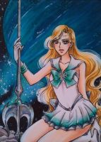 ACEO #29 Sailor Galatea by MTToto