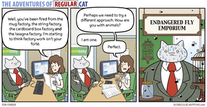 The Adventures of Regular Cat - Emporium by tomfonder
