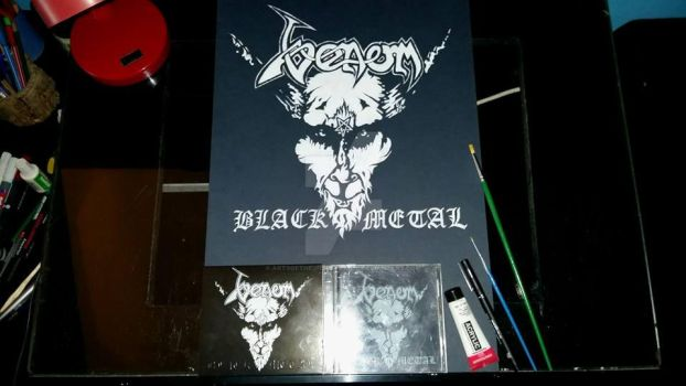 Venom ''Black Metal'' by ArtsOfTheUnspeakable