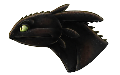 Toothless speedpaint by chezzepticon